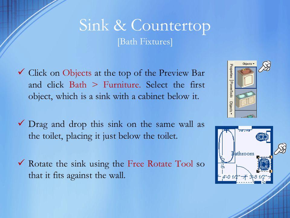 Sink & Countertop [Bath Fixtures]